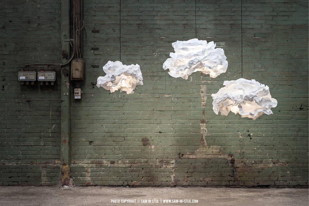Des nuages lumineux pour remodelable à l'infini!: Couloir et hall d'entrée de style  par NEDGIS