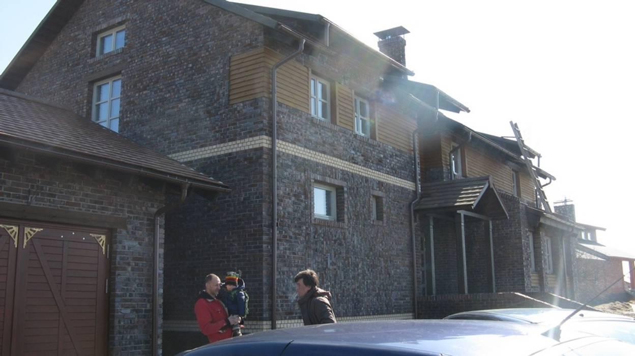 Частный дом Архитектор Владимир Калашников Дома в классическом стиле