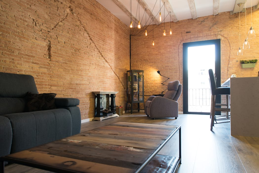 Salas / recibidores de estilo  por Global Projects