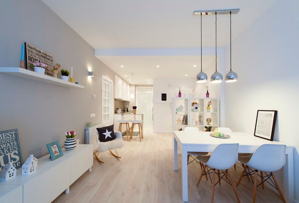Global Projects Scandinavian style dining room
