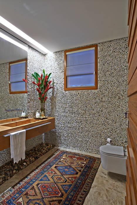 Ванная комната в рустикальном стиле от Beth Nejm Рустикальный