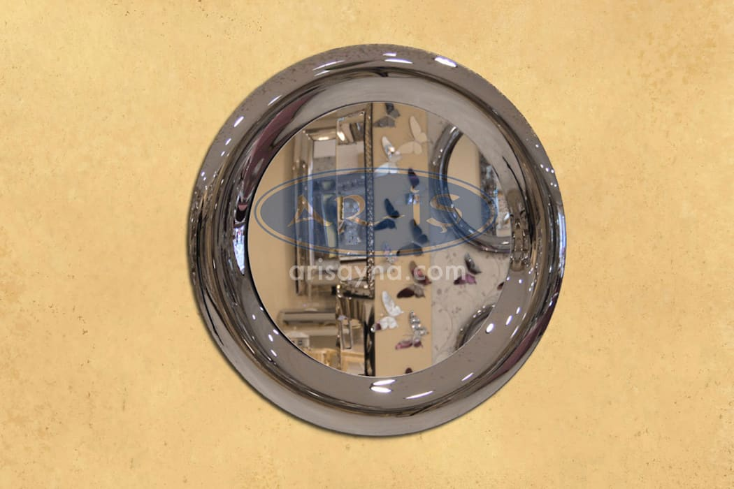 ARİŞ AYNA – Yuvarlak Modern Bombeli Ariş Ayna:  tarz İç Dekorasyon