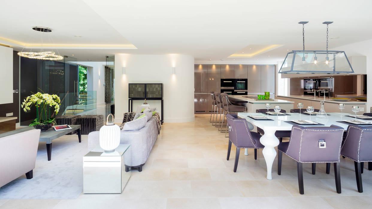 Park Show Home WN Interiors + WN Store Modern style kitchen