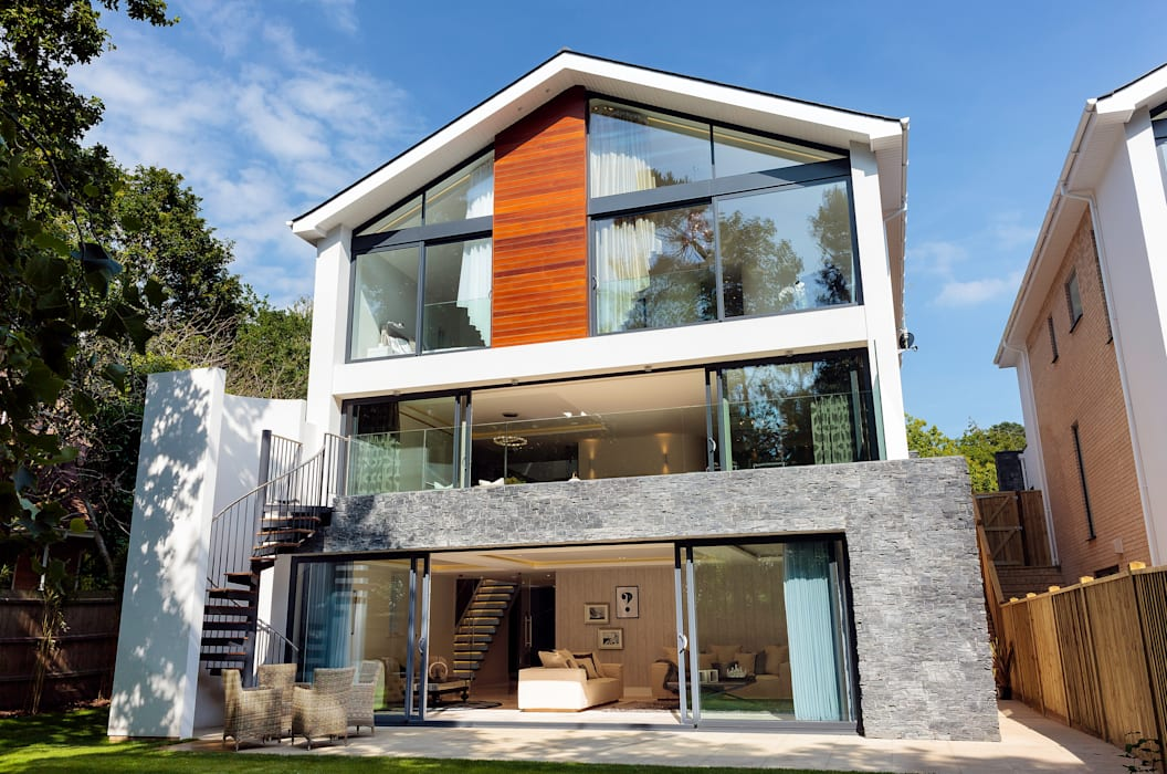 Park Show Home WN Interiors + WN Store Modern houses