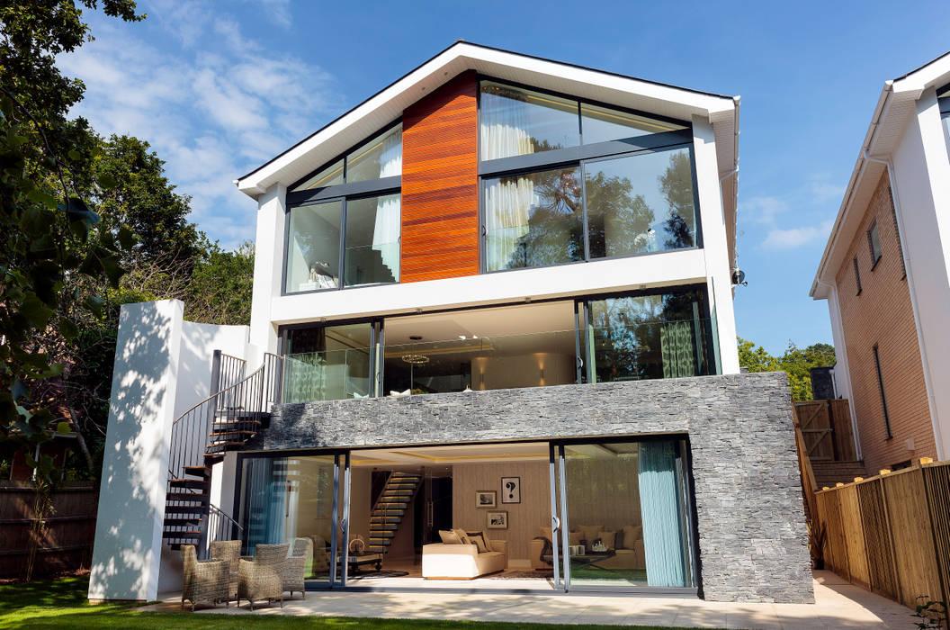 Park Show Home WN Interiors + WN Store Casas estilo moderno: ideas, arquitectura e imágenes