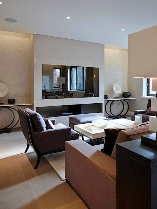 Thornwood Lodge Classic style living room by Keir Townsend Ltd. Classic