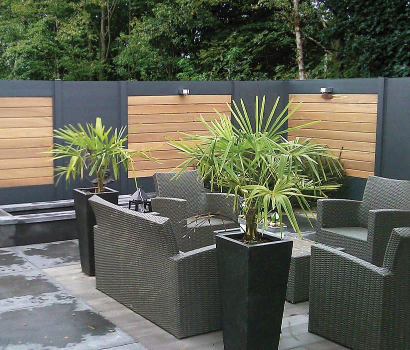 Palissade idéal – deck-linéa: jardin de style par deck-linéa ...