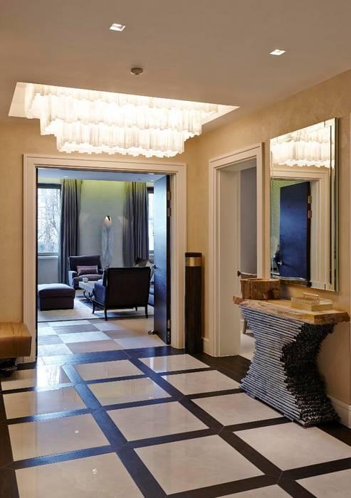 Thornwood Lodge 經典風格的走廊,走廊和樓梯 根據 Keir Townsend Ltd. 古典風