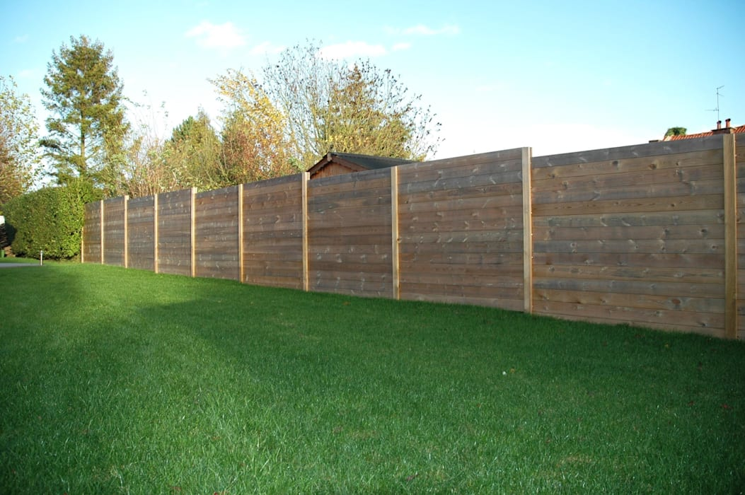 palissade bois parana deck lin a jardin de style de style classique par deck lin a homify. Black Bedroom Furniture Sets. Home Design Ideas