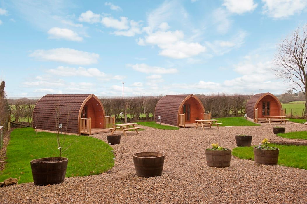 Scots-Pod Country style hotels by Timeless Timber Country