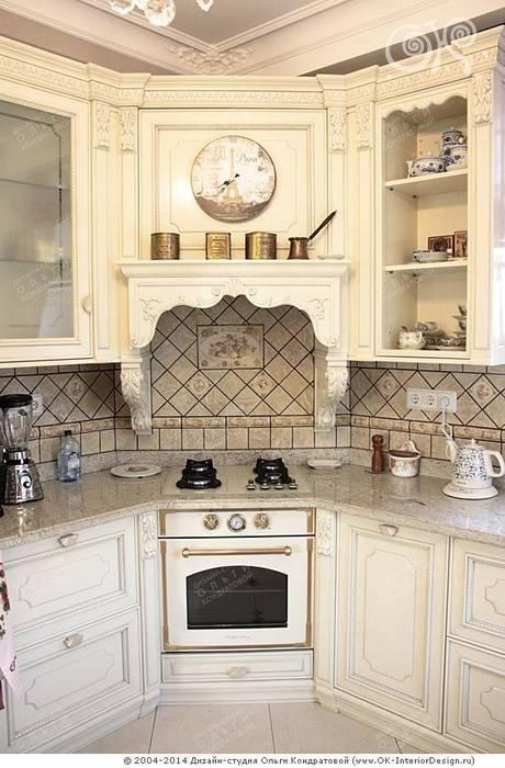 Интерьер кухни в дизайне дома Кухня в классическом стиле от Дизайн студия Ольги Кондратовой Классический