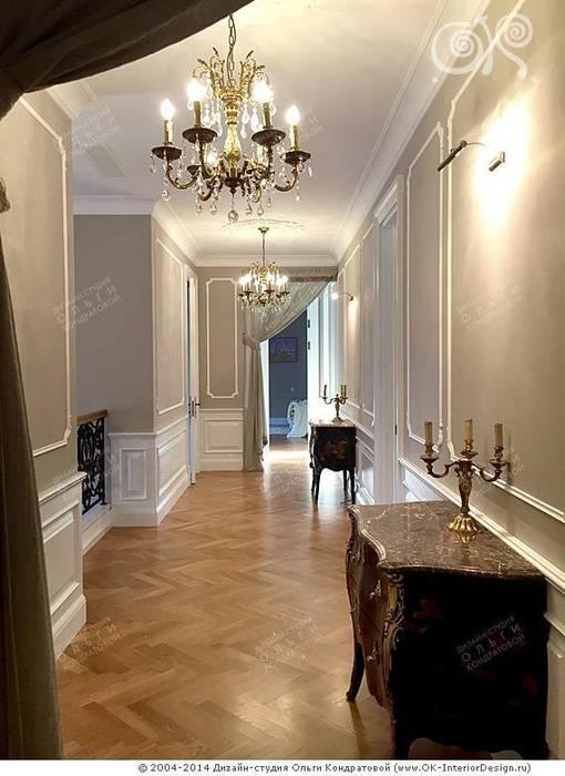 Оформление коридора в классическом стиле Коридор, прихожая и лестница в классическом стиле от Дизайн студия Ольги Кондратовой Классический
