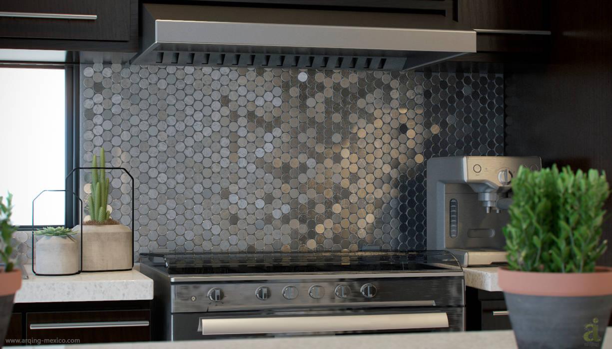 E2 Kitchen Detail de arQing Minimalista