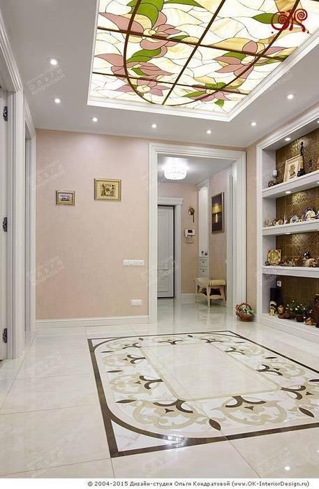 Прихожая в дизайне квартиры на Мытной: Коридор и прихожая в . Автор – Дизайн студия Ольги Кондратовой