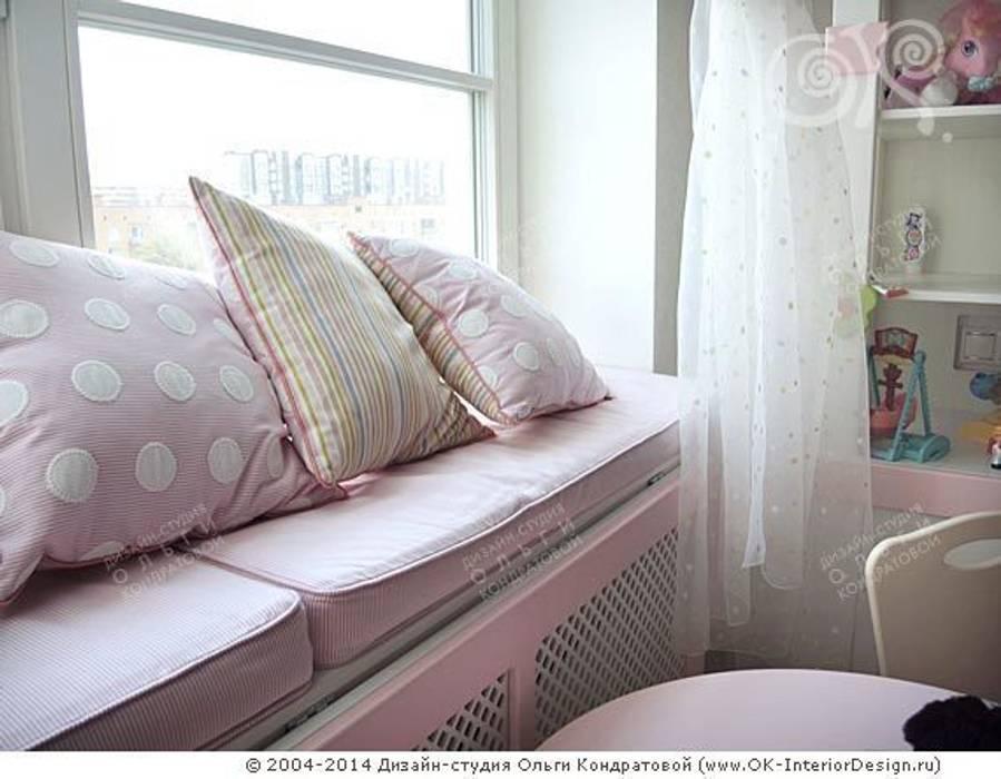 Интерьер детской в квартире на Мытной: Детские комнаты в . Автор – Дизайн студия Ольги Кондратовой
