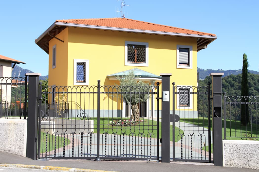 Cancelli artistici CMG Costruzioni Metalliche Grassi Case classiche