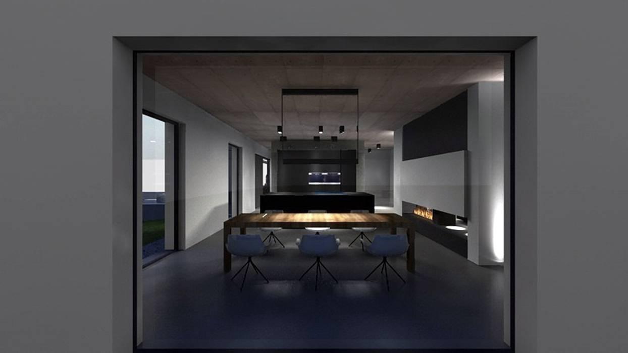 Haus_gra: modern  von aprikari gmbh & co. kg,Modern