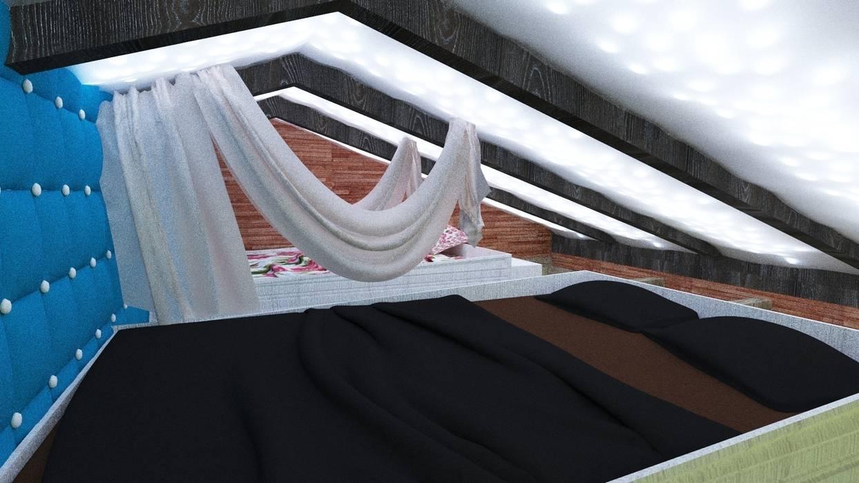 Зона сна Детская комнатa в средиземноморском стиле от Nada-Design Студия дизайна. Средиземноморский
