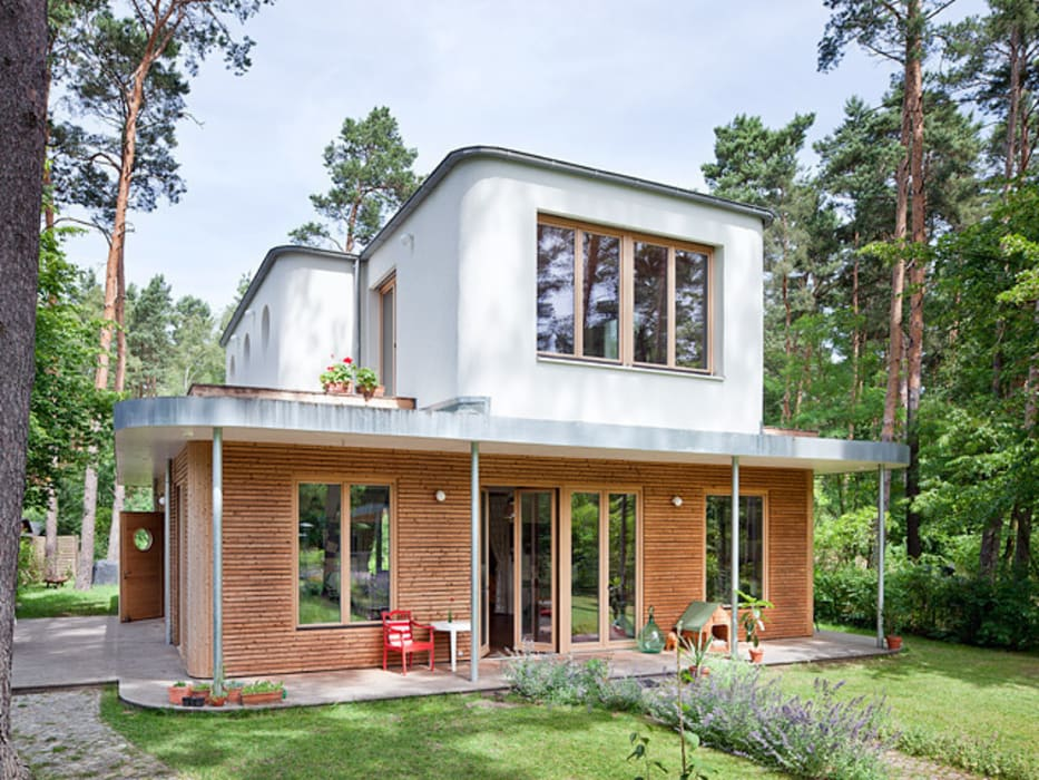 Eclectic style houses by Müllers Büro Eclectic
