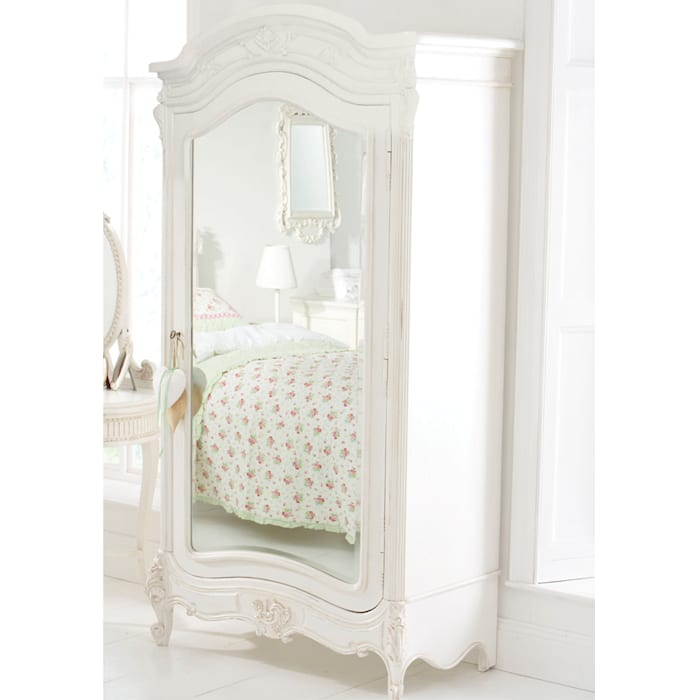 Tilly Mirrored Wardrobe Little Lucy Willow Nursery/kid's roomWardrobes & closets