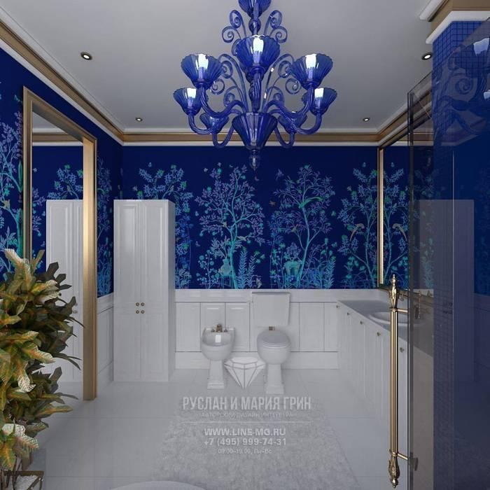 САНУЗЕЛ: Ванные комнаты в . Автор – Студия дизайна интерьера Руслана и Марии Грин