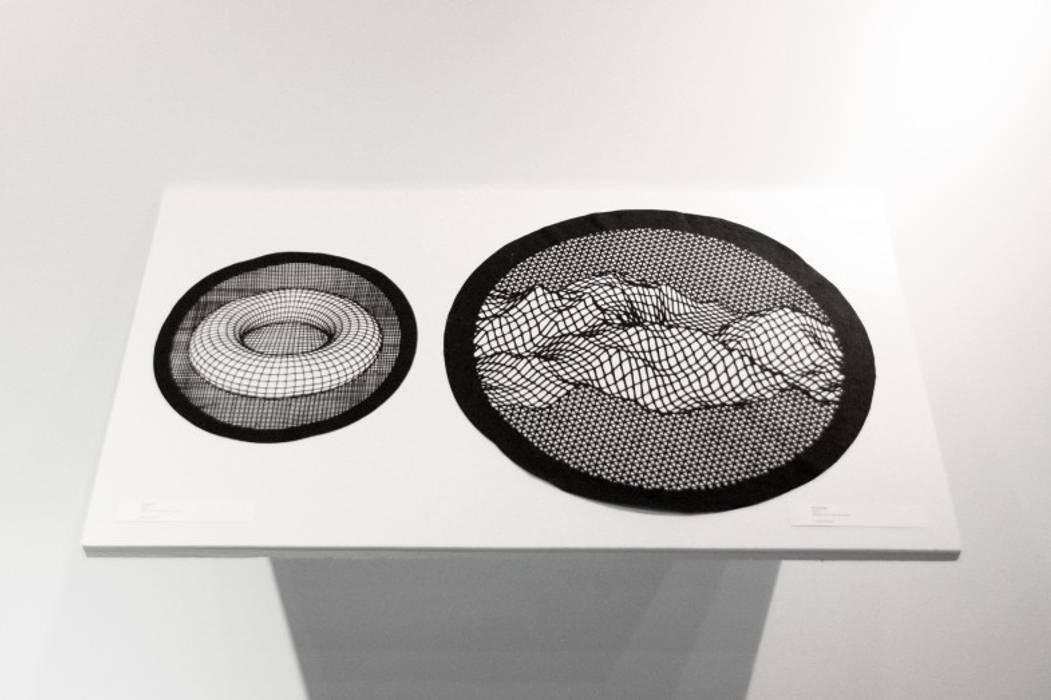 Correspondances 2: Salon de style  par Lucie Leroux Design Textile