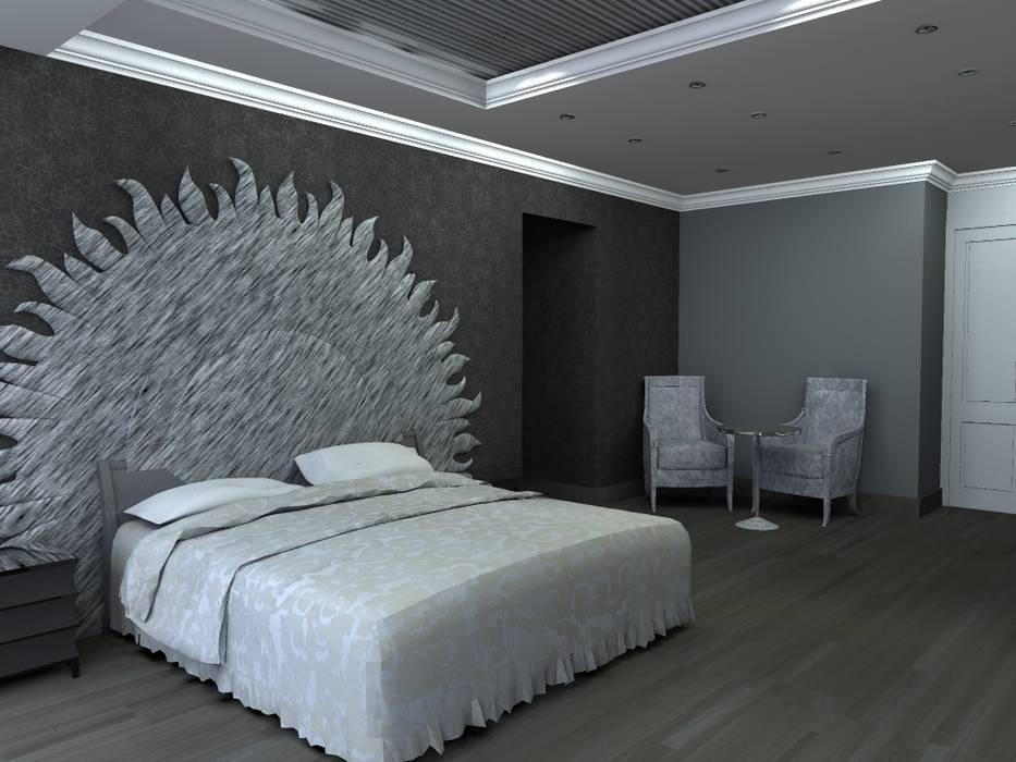 Moderne Schlafzimmer von Arq. Jacobo Smeke Modern