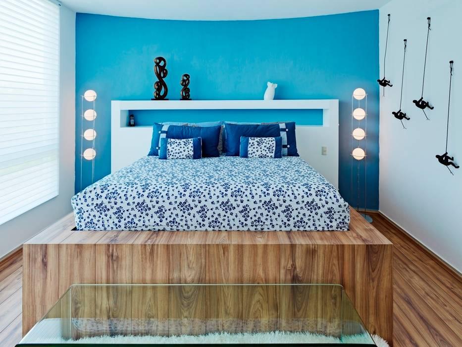 Dormitorios de estilo  por Excelencia en Diseño , Moderno