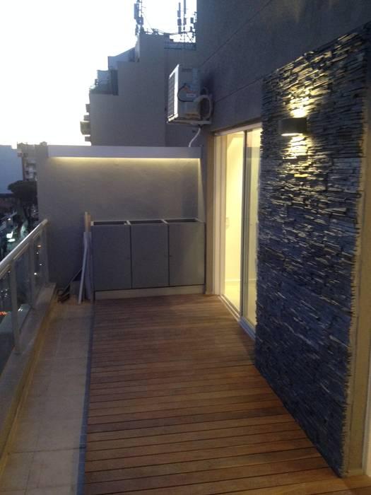 Balcon Terraza Moderno De Estudio Nicolas Pierry Diseño En