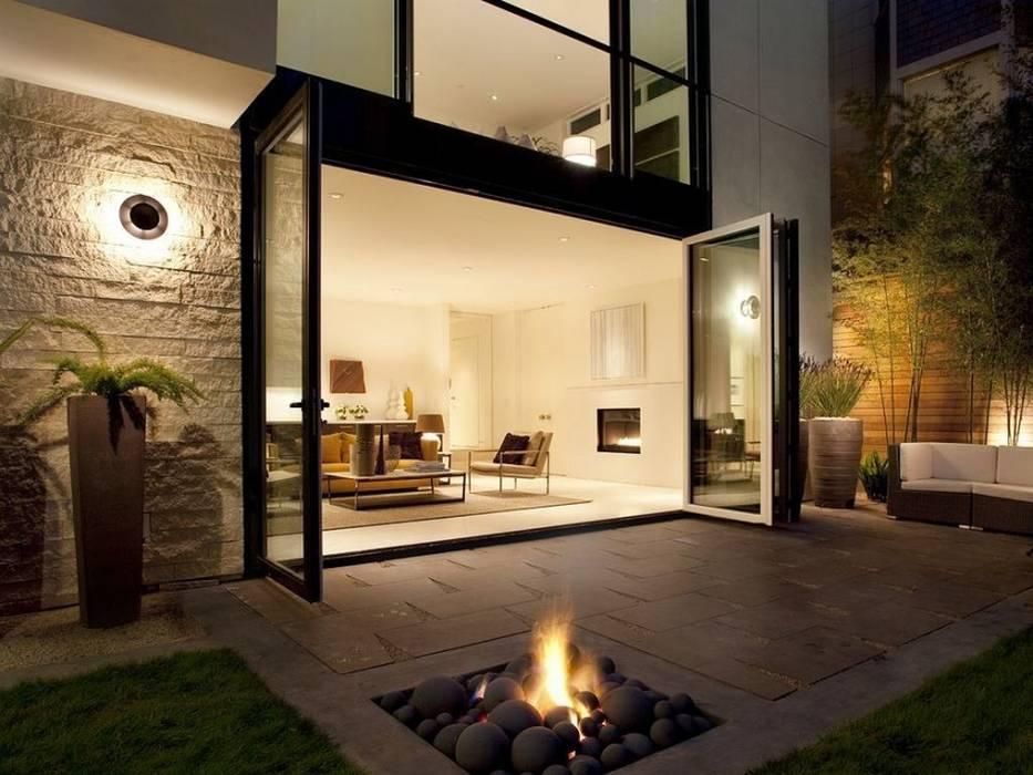 Ev Dekorasyonu Modern Balkon, Veranda & Teras Daire Tadilatları Modern
