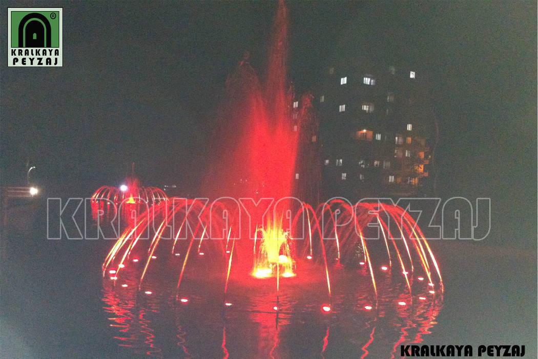Bağlar Belediyesi / Diyarbakır - Göletli Park Modern Havuz Kralkaya Peyzaj Havuz Fıskiye Sist. ve Pompa Mim. Müh. İnş. Ltd. Şti Modern