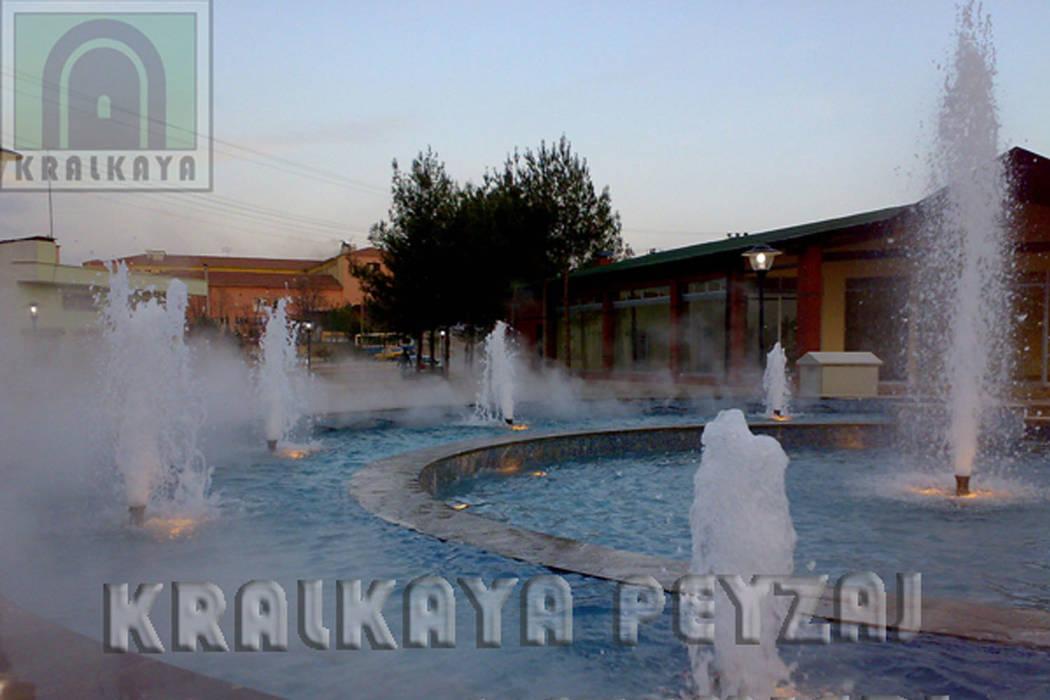 Kralkaya Peyzaj Havuz Fıskiye Sist. ve Pompa Mim. Müh. İnş. Ltd. Şti  – TRT Su Parkı / Gaziantep:  tarz Havuz