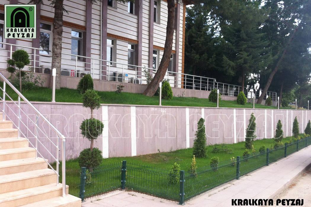 Kralkaya Peyzaj Havuz Fıskiye Sist. ve Pompa Mim. Müh. İnş. Ltd. Şti  – Eski Çeltek Kömür İşletmesi / Amasya:  tarz Bahçe,