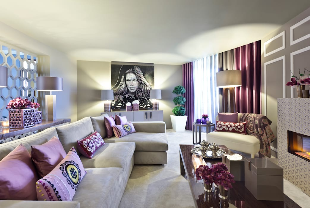 Salas de estilo moderno de ROSA PURA HOME STORE Moderno