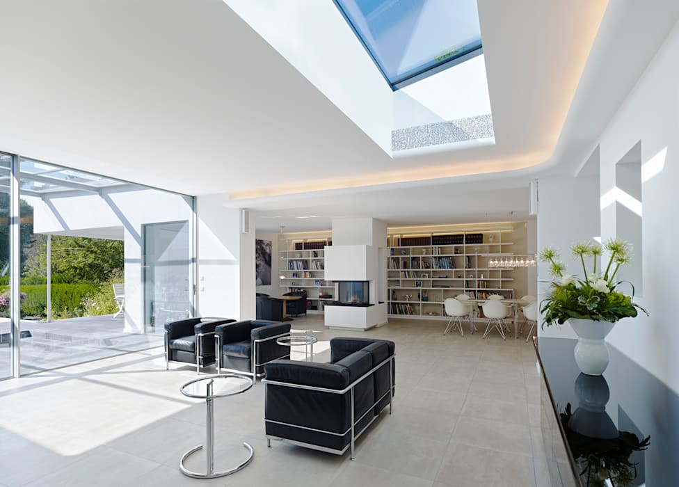 Wohnen Gritzmann Architekten Minimalistische Wohnzimmer