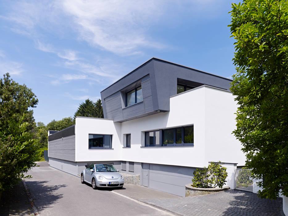 Fassade mit Aufstockung Obergeschoss Gritzmann Architekten