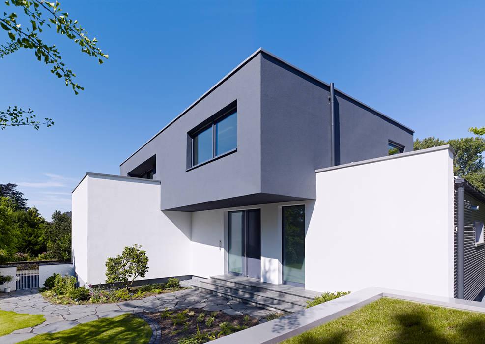 Minimalistyczne domy od Gritzmann Architekten Minimalistyczny