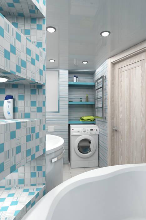 Modern Bathroom by Студия дизайна и декора Светланы Фрунзе Modern