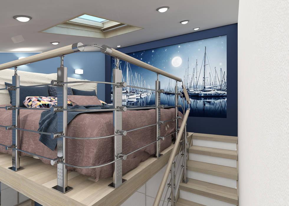 Moderne Schlafzimmer von Студия дизайна и декора Светланы Фрунзе Modern