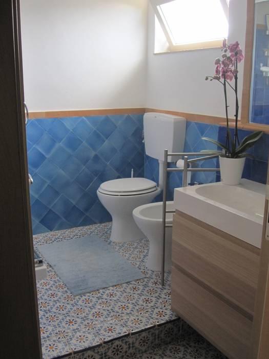 Salle de bain méditerranéenne par francesca ravidà architetto | interior designer Méditerranéen