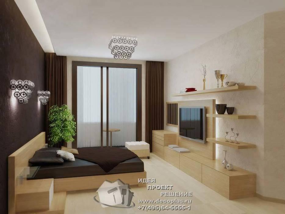 Фото интерьера спальни в квартире: Спальни в . Автор – Бюро домашних интерьеров,