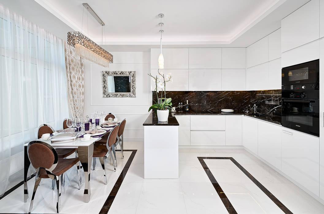 Дизайн интерьера квартиры, ЖК GOLDEN PARK Гостиная в стиле модерн от ELIZABETH STUDIO DESIGN Модерн