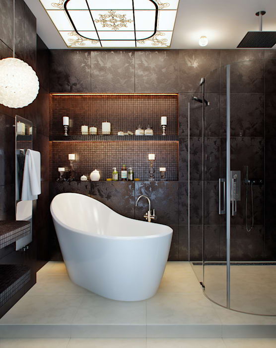 클래식스타일 욕실 by EJ Studio 클래식