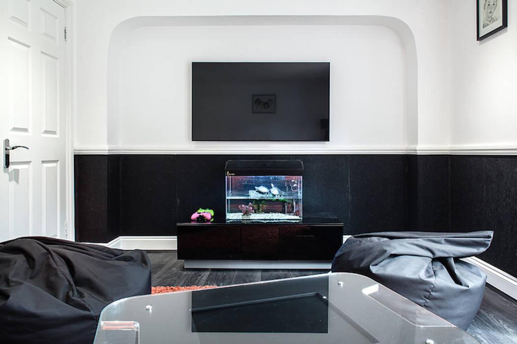 Essex Glamour Nic Antony Architects Ltd Classic style media room