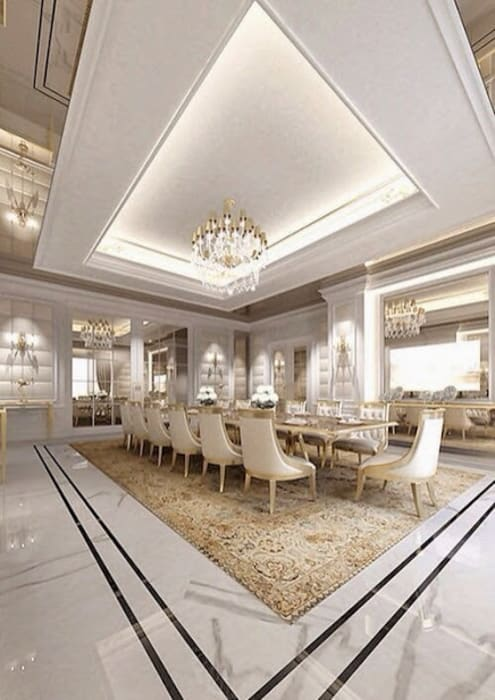 Daire Boya İşleri Klasik Yemek Odası Ev TAdilatları Klasik
