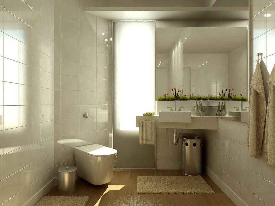 Banyo Tadilatları – Banyo Dekorasyonu :  tarz Banyo