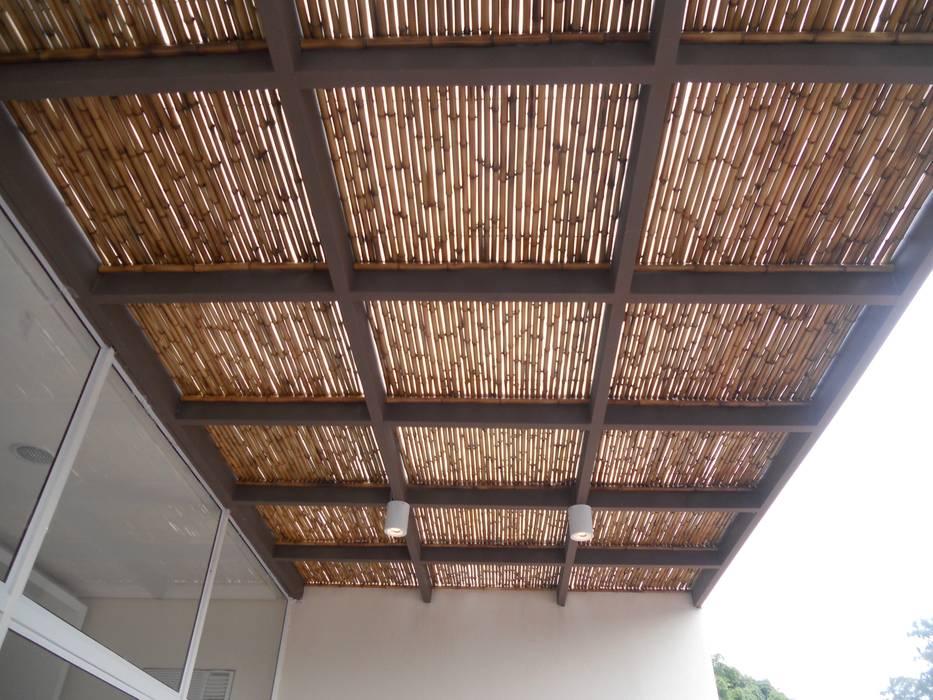 ระเบียง, นอกชาน โดย Kanela Bambu, คันทรี่