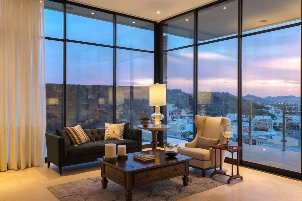 CASA MAR: Salas de estilo  por Imativa Arquitectos