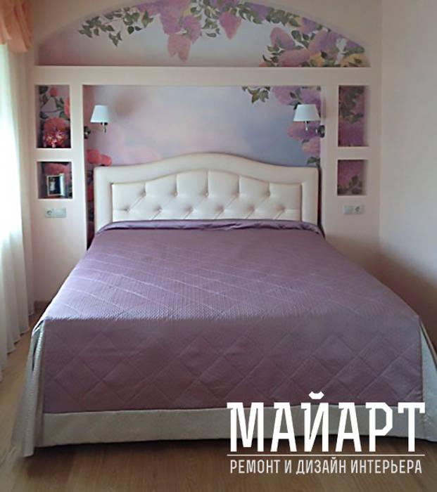 Дом в Нахабино:  в . Автор – МайАрт: ремонт и дизайн помещений, Классический