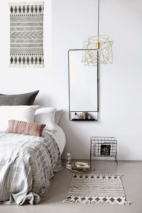 Спальня в скандинавском стиле от Muebles Capsir Скандинавский